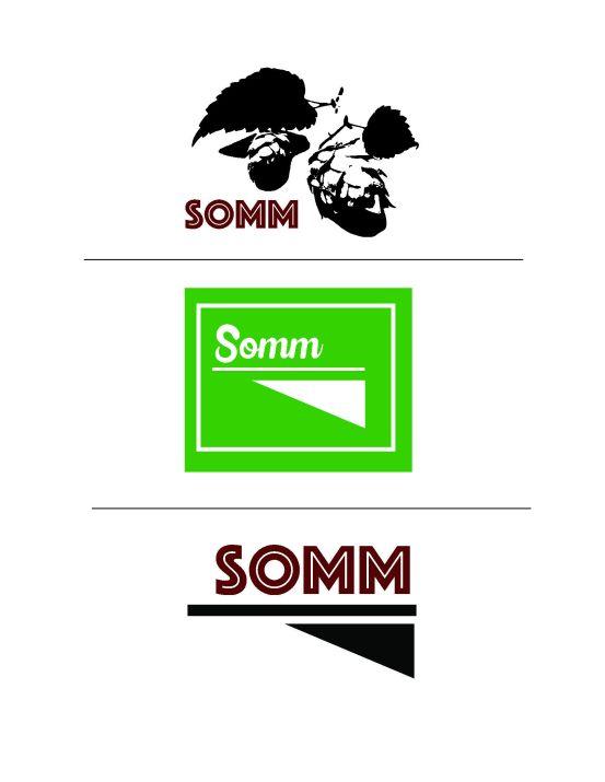 Somm Logo Designs